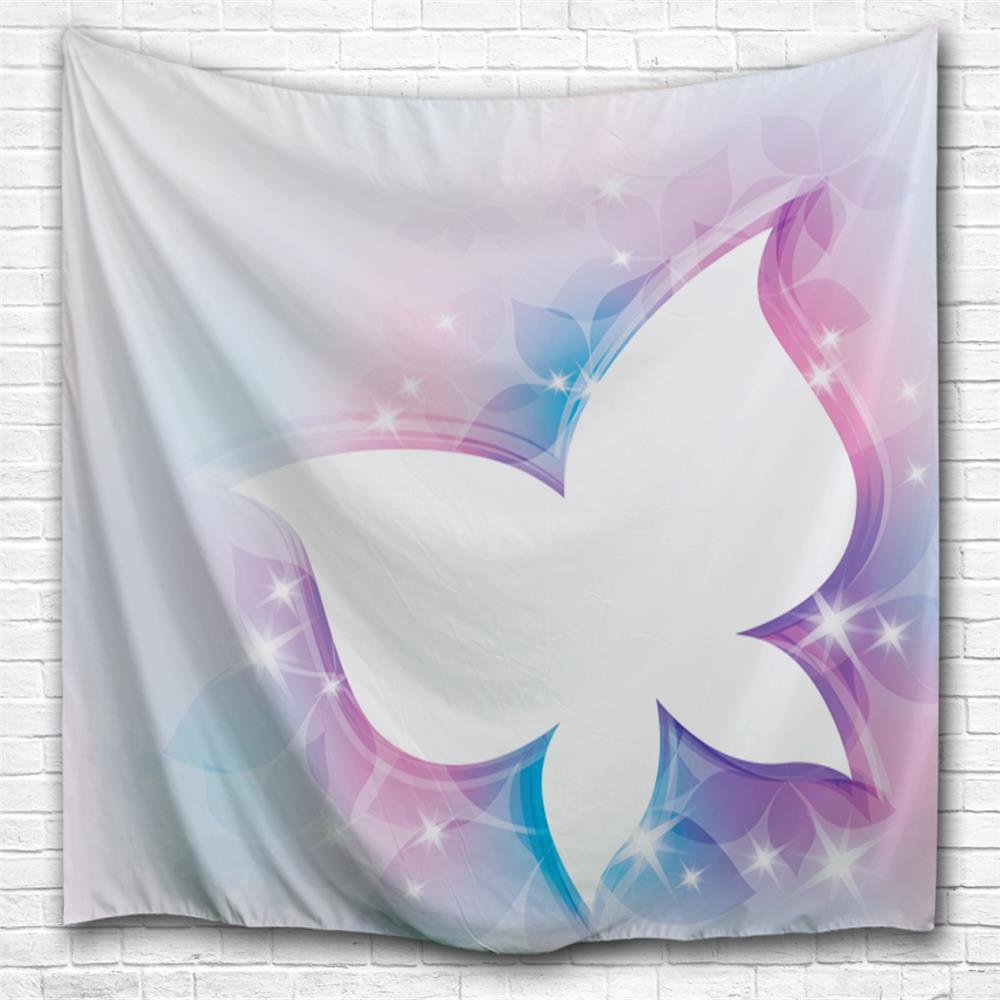 Fancy Butterfly 3D Printing Home Wall Hanging Tapestry for Decoration space shark 3d printing home wall hanging tapestry for decoration