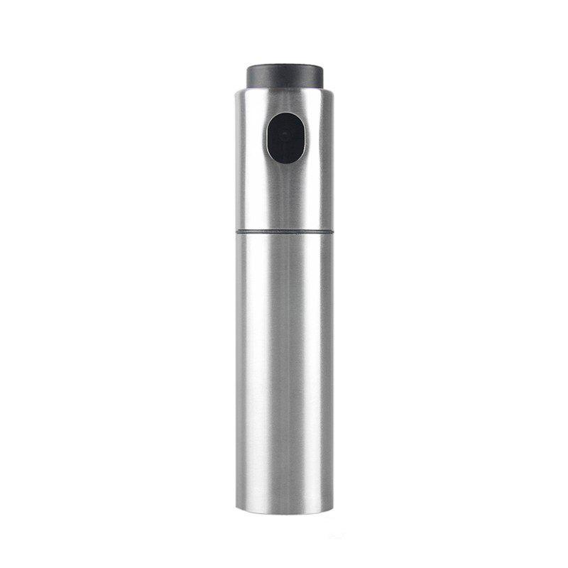 Stainless Steel Olive Pump Spraying Oil Bottle Sprayer Can Jar Pot Tool medical stainless steel pot oil pot