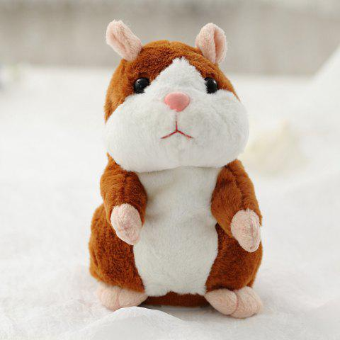 c8610b8507 Shaking Nods To Learn To Speak Can Walk Electric Hamsters - LIGHT BROWN