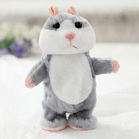 Shaking Nods To Learn To Speak Can Walk Electric Hamsters - LIGHT GRAY