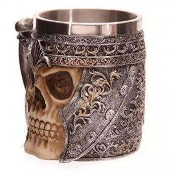 3D Stainless Steel Cup Coffee Mug - multicolor A