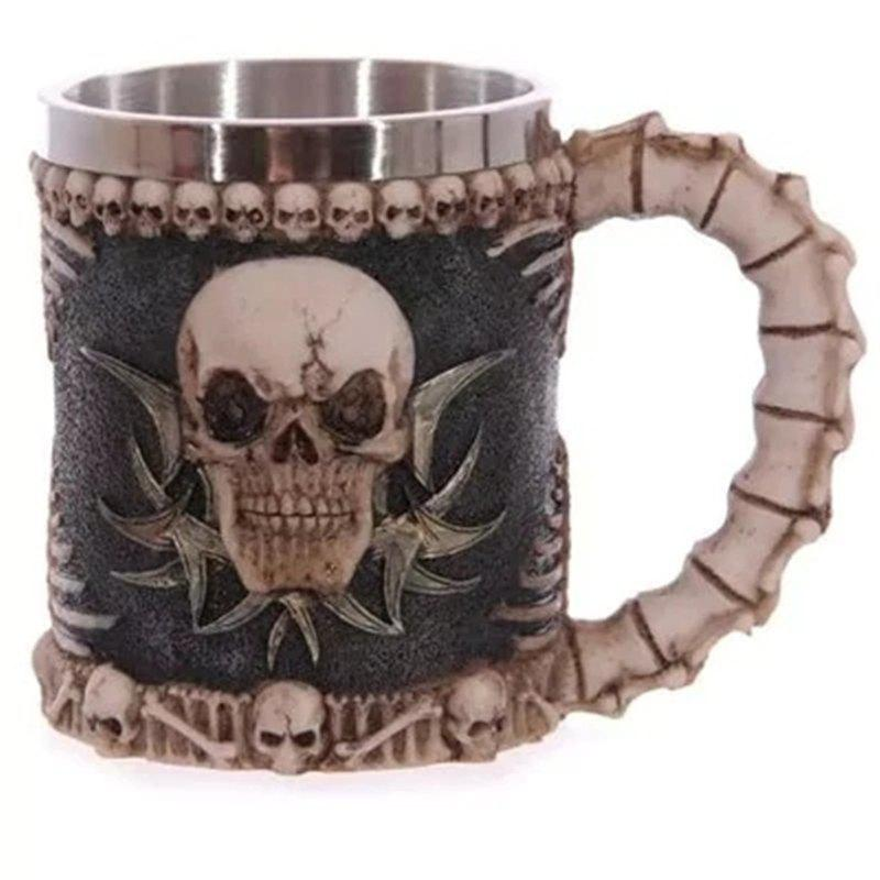 3D Stainless Steel Cup Coffee Mug stainless steel 3d dragon mug