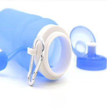 Collapsible Silicone Cup Outdoor Travel - WINDOWS BLUE