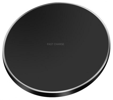 GY-68 Ultra-thin Fast Wireless Phone Charger - BLACK 1PC