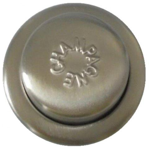 Gift Press Type Stainless Steel Wine Champagne Plug - ARMY BROWN