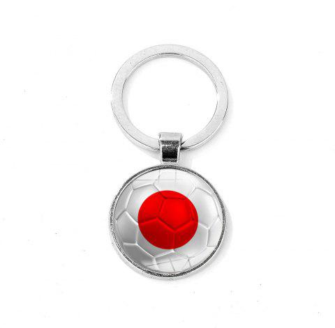 Flag Football Portable Key Chain - TRANSPARENT