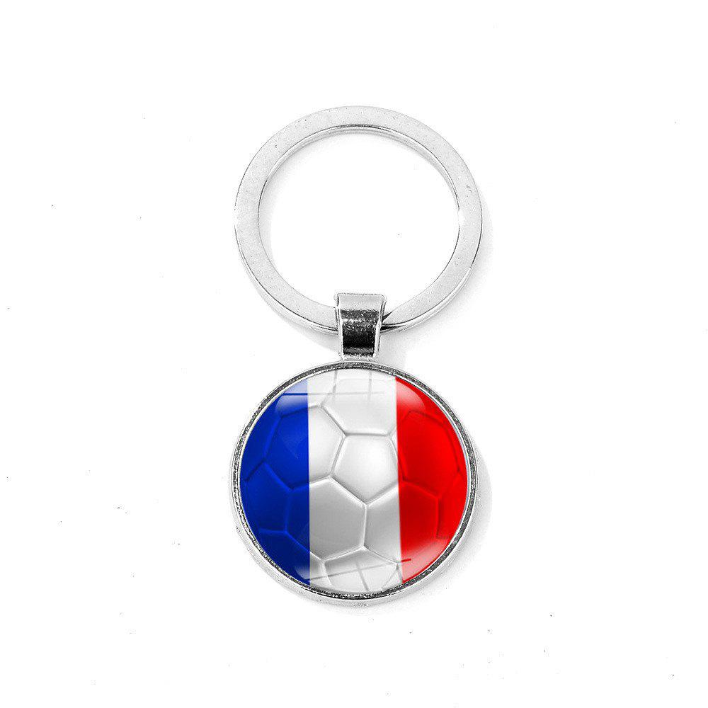 Flag Football Portable Key Chain - ROYAL BLUE