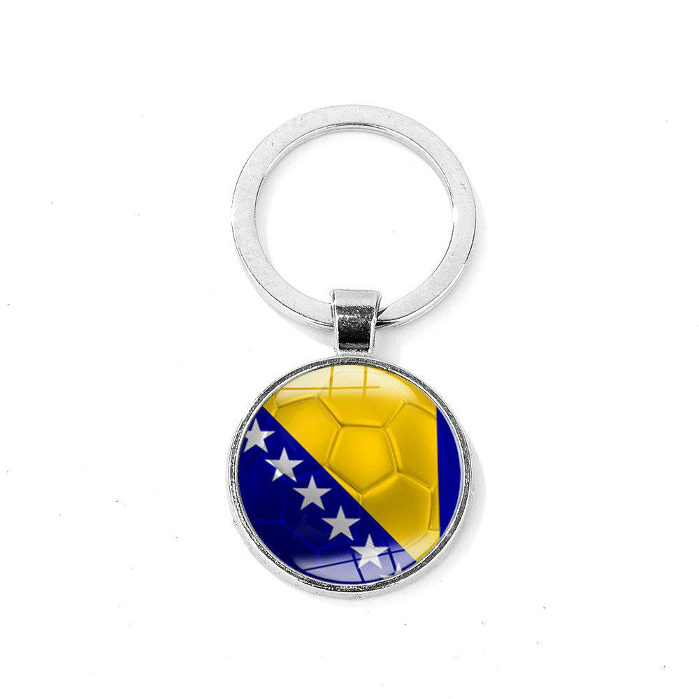 Flag Football Portable Key Chain - NAVY BLUE