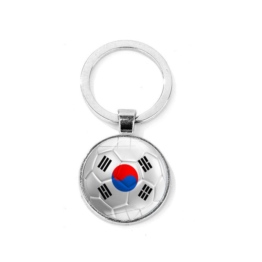 Flag Football Portable Key Chain - COOL WHITE
