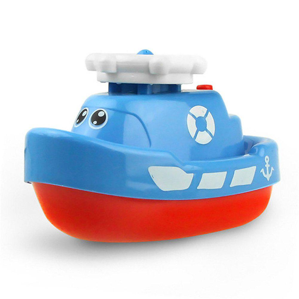 Creative Electric Water Jet Boat Bath Tub Toy for Children 2017 new mini facial skin care water oxygen jet peeling machine water jet cleaning machine for beauty salon