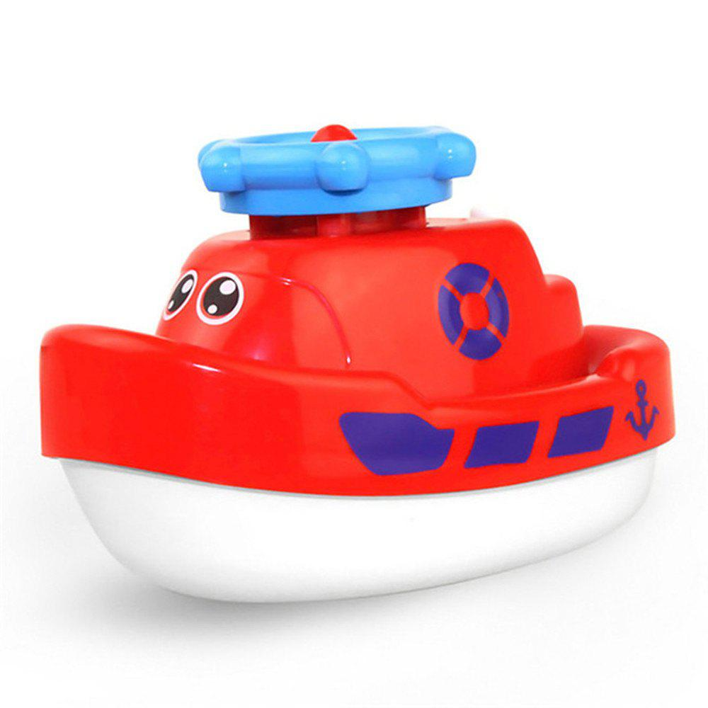 Creative Electric Water Jet Boat Bath Tub Toy for Children large size 168 41cm inflatable swimming water pool children outdoor bathtub game playground piscina bebe piscine pvc bath tub