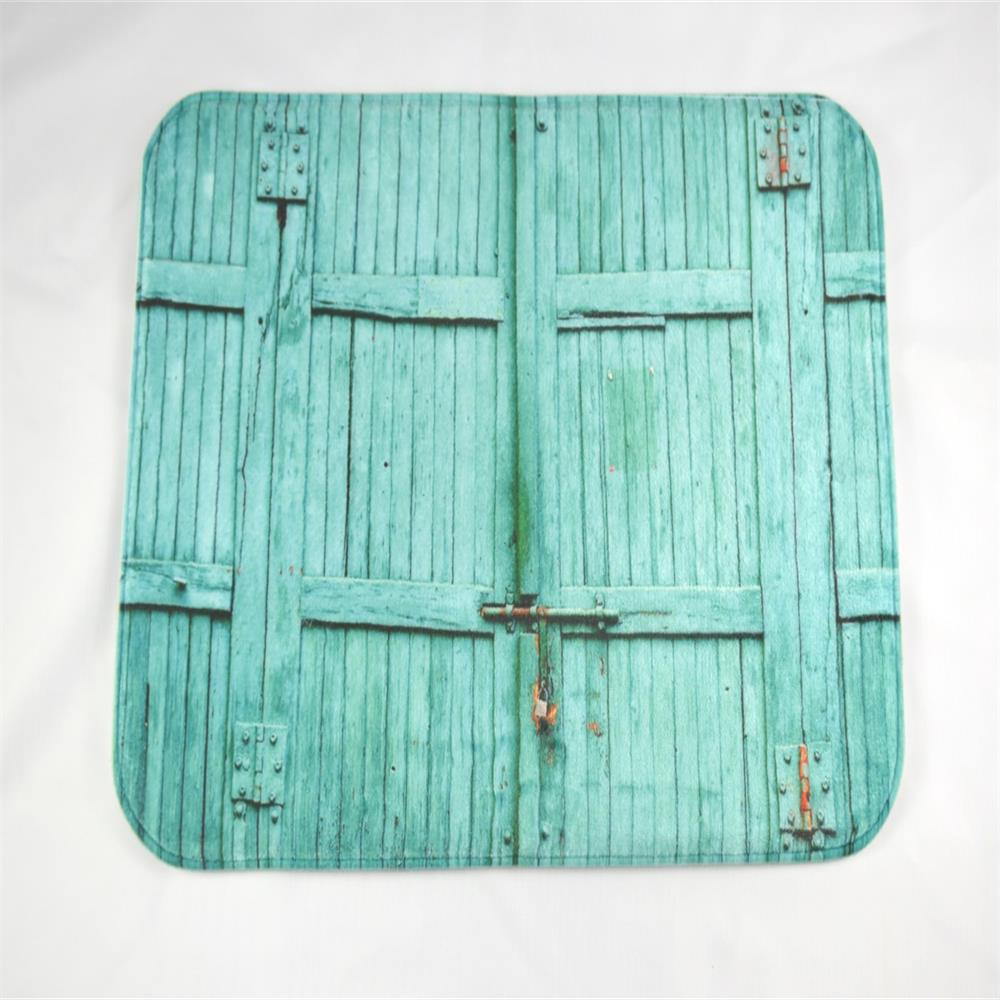 The Blue Wooden Door Super Soft Non-Slip Bath Door Mat Machine Washable cowboy lanterns super soft non slip bath door mat machine washable