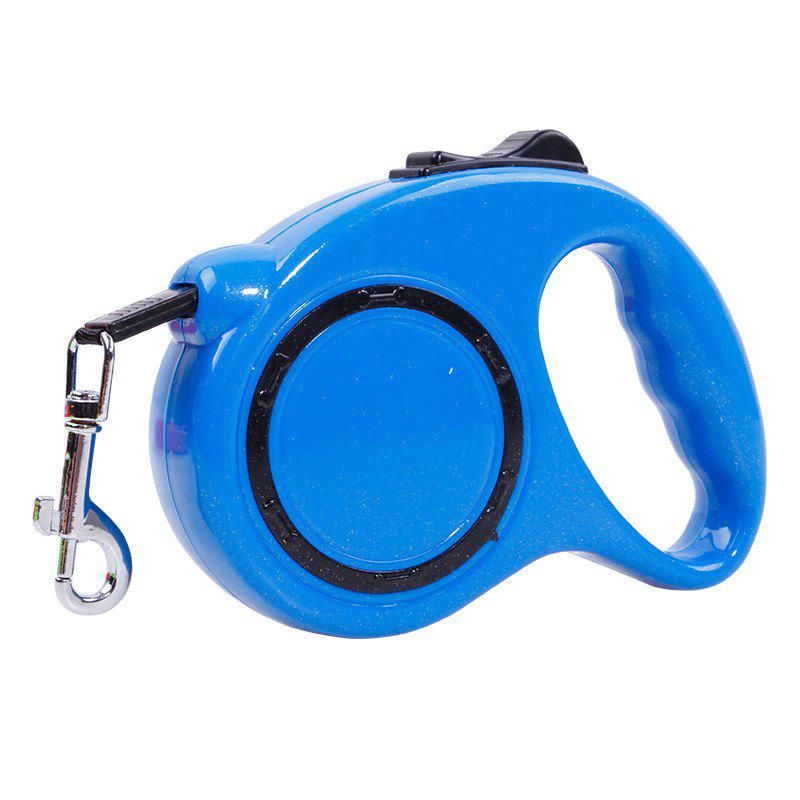 3m Traction Belt with Automatic Telescopic Rope Portable Pet Dog Supplies - SKY BLUE