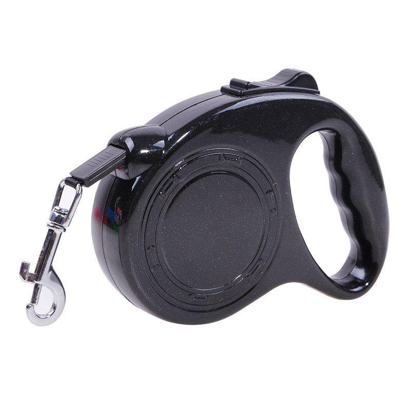 3m Traction Belt with Automatic Telescopic Rope Portable Pet Dog Supplies - BLACK