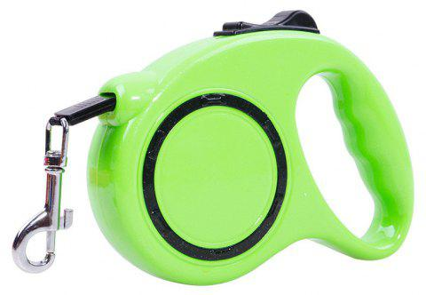 5 m Traction Belt with Automatic Telescopic Rope Portable Pet Dog Supplies - MINT GREEN