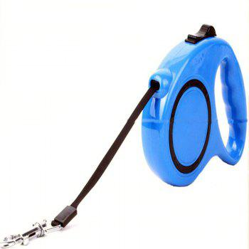 5 m Traction Belt with Automatic Telescopic Rope Portable Pet Dog Supplies - SKY BLUE