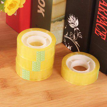 DIHE Office Stationery Lucency Seal Packaging Tape - TRANSPARENT