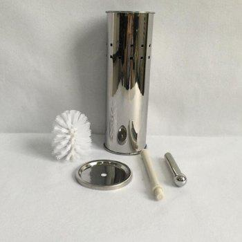430 Stainless Steel Perforated Toilet Brush - SILVER