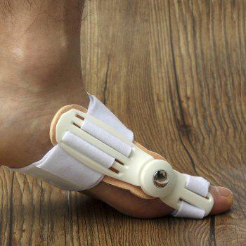 Foot Thumb Valgus Big Foot Orthodontic Device Belt Day and Night Aid Appliance - WHITE