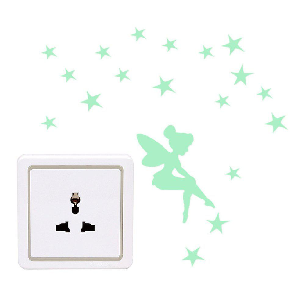 Noctilucent Fairy Sticker little sticker dolly dressing fairy
