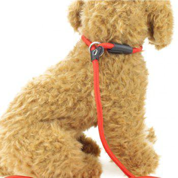 Professional Game Pet Leash - FIRE ENGINE RED