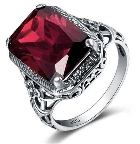 Fashion Vintage Ruby Engagement Ring - RED US SIZE 8