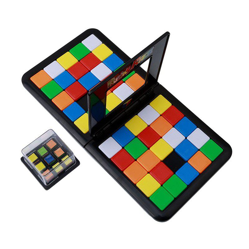 Rubik Race Board Game the Ultimate to Face Strategy Puzzle Kid Xmas Toy children wooden mathematics puzzle toy kid educational number math calculate game toys early learning counting material for kids