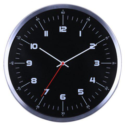 Home Multifunctional Creative Simple Fashion Wall Clock - BLACK