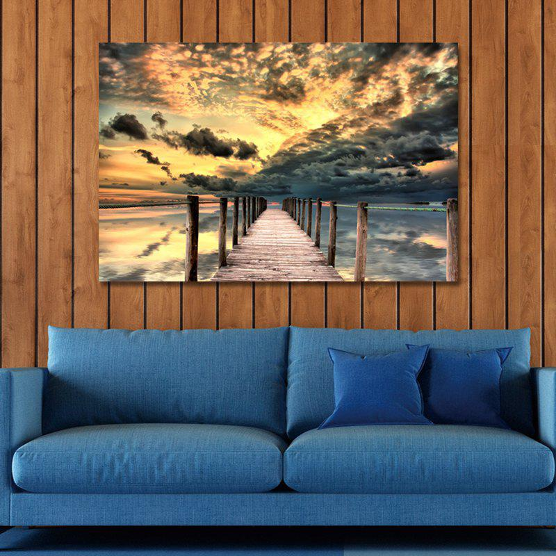 2-23- Photography Sunrise Scenery By the Sea Print Art