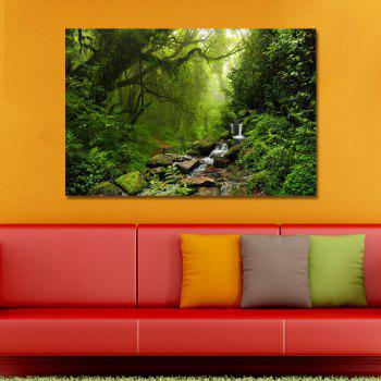 38668819_xl Photography A Brook in The Forest Print Art - multicolor 40 X 60CM