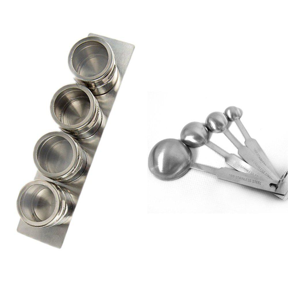 Stainless Steel Seasoning Cans Spoon Assembly stainless steel seasoning cans spoon assembly