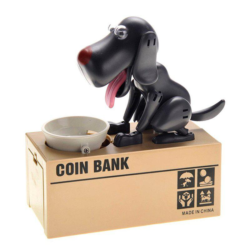 Dog Piggy Bank Cute Robotic Coin Munching Money Box