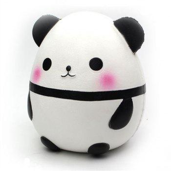Giant Wet and Slow Springback Panda Toy Jumbo Squishy - multicolor