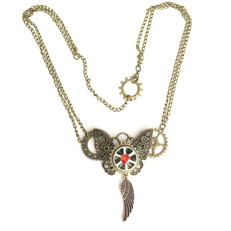 European and American Fashion Models Steampunk Gear Necklaces european popular bar chairs north american fashion club stool retail and wholesale free shipping green purple black