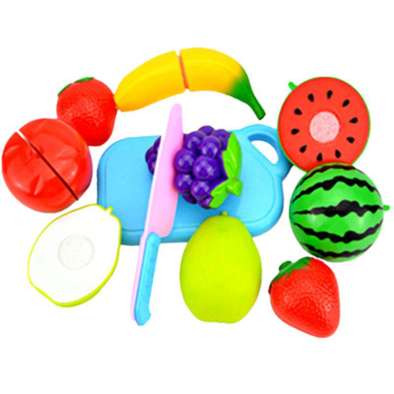 Plastic Kitchen Fruit Cutting Toys for Kids helicopter fighter modeling plastic building toys for kids