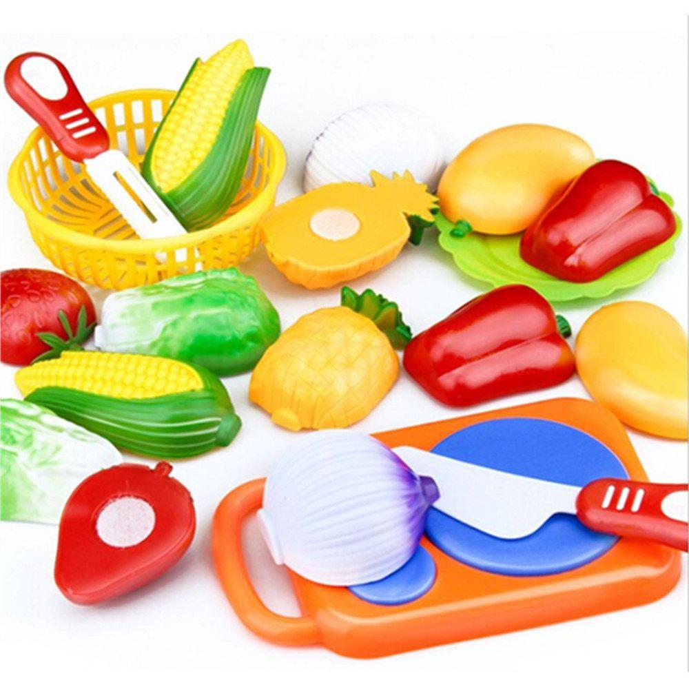 Kitchen Pretend Play Toys Cutting Vegetables Food wooden kitchen toys set children pretend play kitchen toys child multifunction educational toys birthday gift