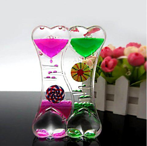 Rotary Turbine Fashion Double Hourglass - VIOLET RED