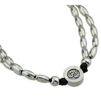 Ethnic Jewelry Round Shape Adjustable Anklets - SILVER