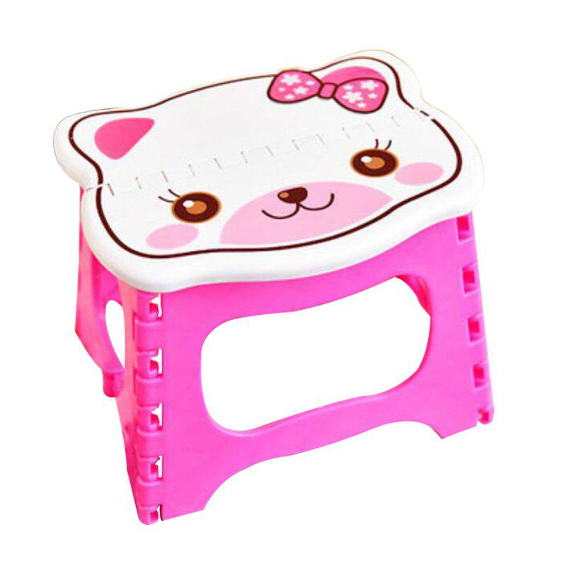 Antiskid Stool for Children phfu cartoon animal children antiskid stool bathroom stool feet stool pink piggy