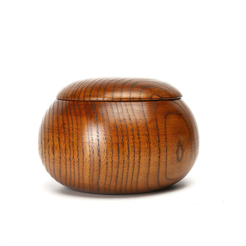 Wooden Thickening Game Go Canister - WOOD