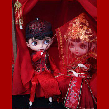 Marriage Lover Doll Gift Culture Collections - CRANBERRY 32CM / 12.6 INCH
