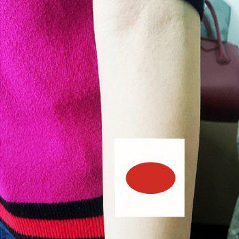 Japanese Flag Football  Body Tattoo Stickers - multicolor A