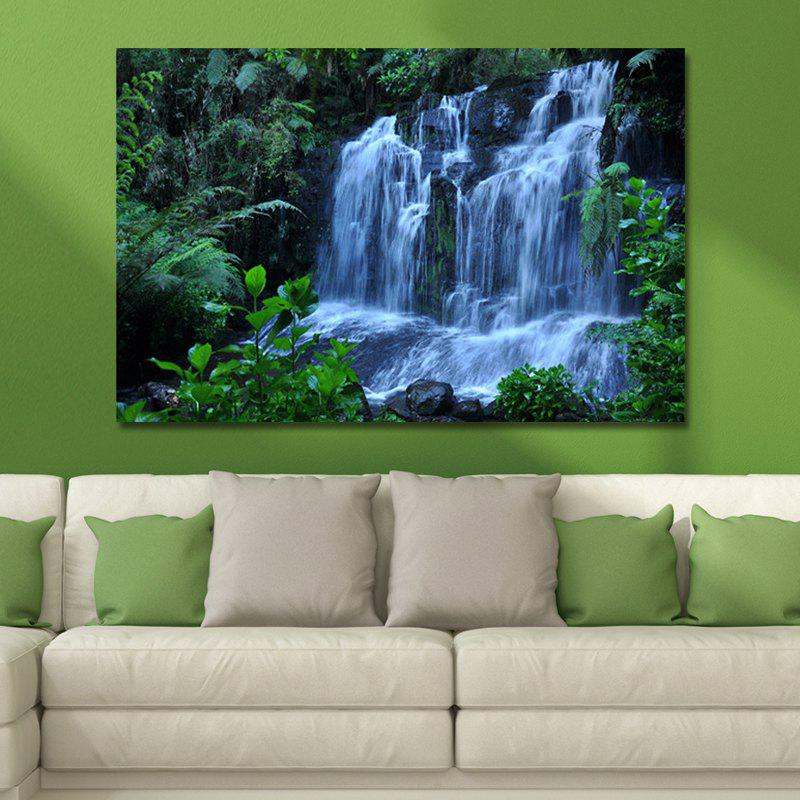 WPW4C5V5 Photography A Waterfall in the Forest Print Art купить в Москве 2019
