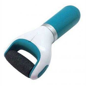 Electric Foot Care Machine Hard Dry Dead Cuticle Skin Remover Pedicure Care Tool - TURQUOISE