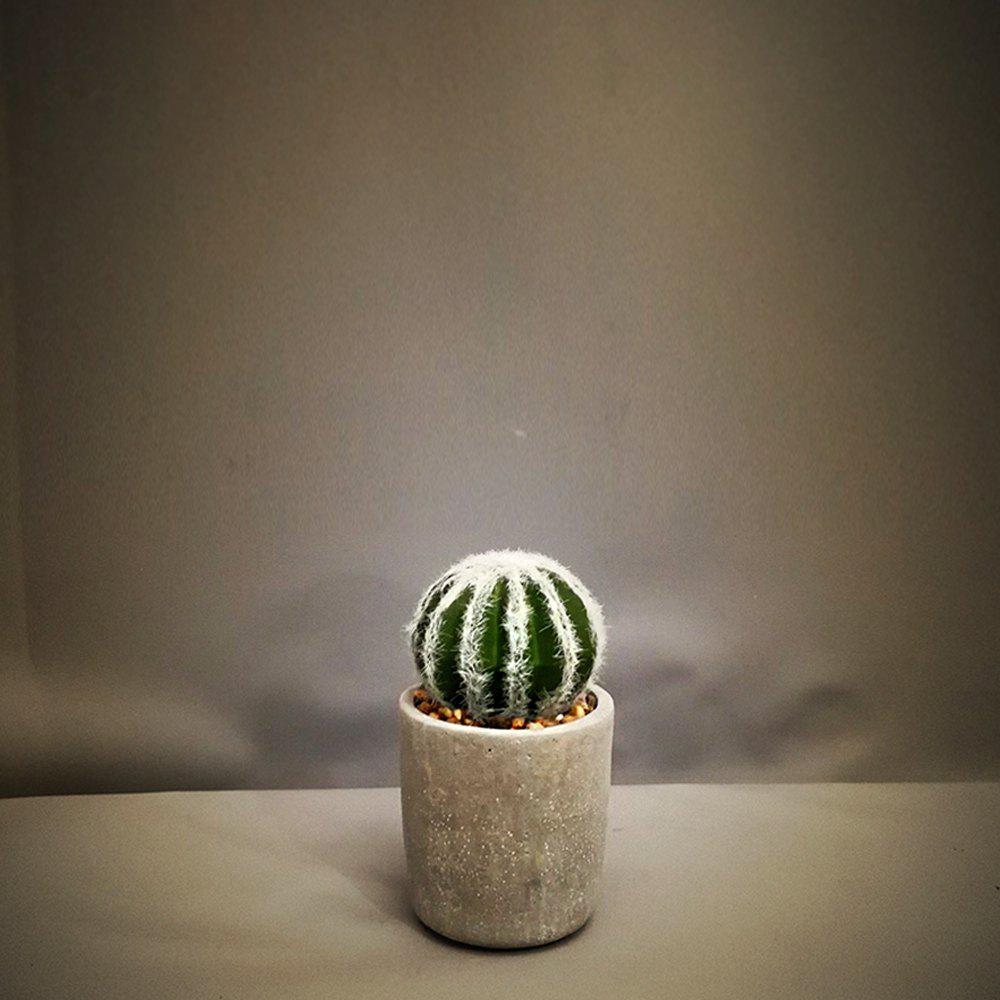 Artificial Succulents Green Potted Plant - CLOVER GREEN