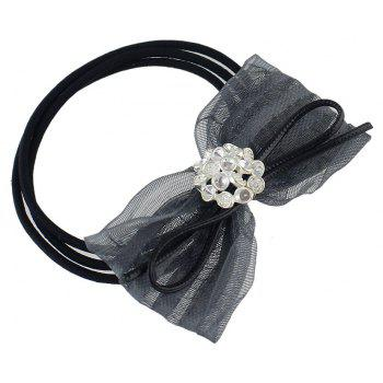 Colorful Lace Bowknot Decoration Headbands - GRAY
