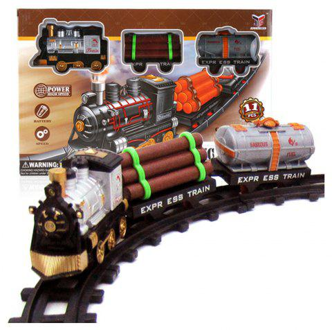Fancy Electric Rail Toy Train - WOOD