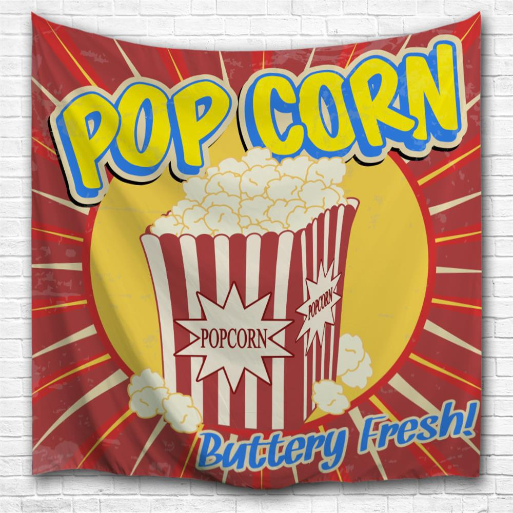 2018 Popcorn 3D Printing Home Wall Hanging Tapestry for Decoration ...