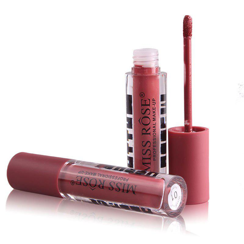 MISS ROSE 12 Colors Waterproof and Long Lasting Lip Gloss for Women miss rose popular new shimmer metal colors lip gloss
