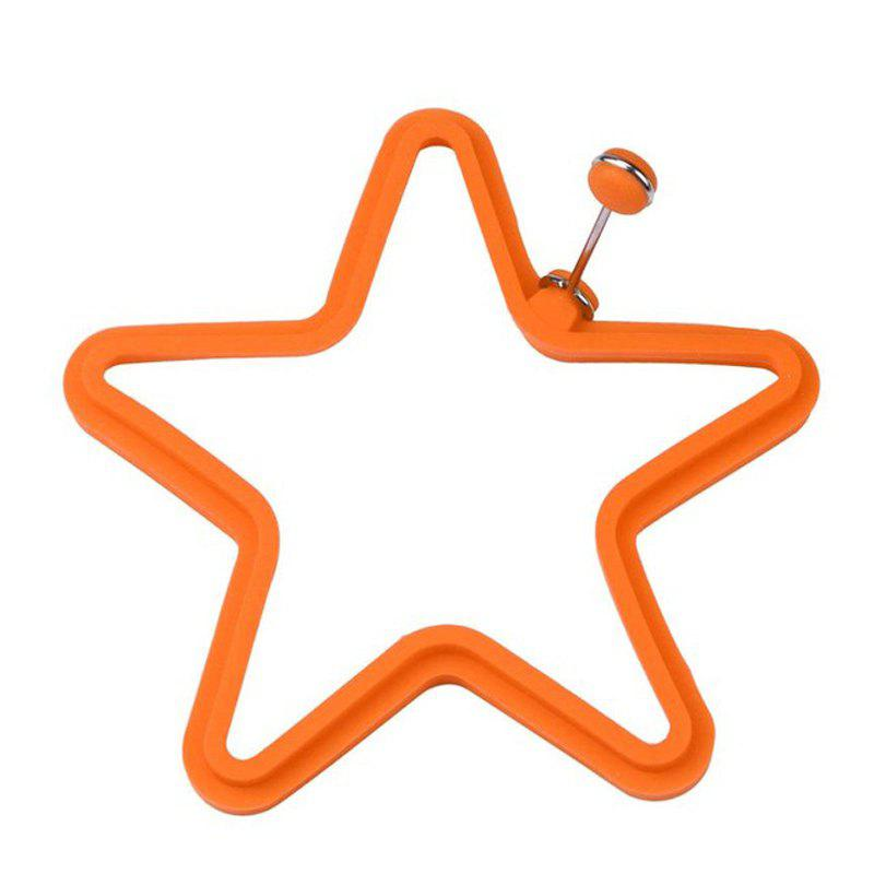 Silicone Five Stars Pancakes Fried Egg Molds with Handles egg stars 84414